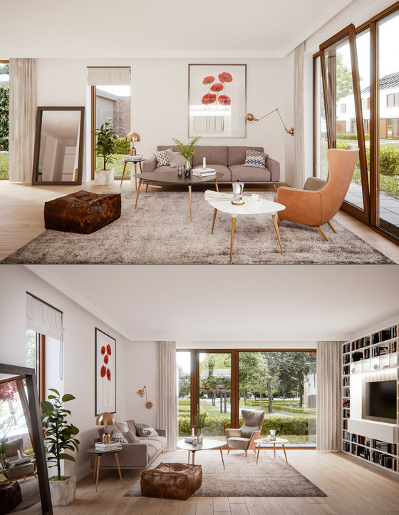 Detailed Guide & Inspiration For Designing A Mid-Century Modern Living Room