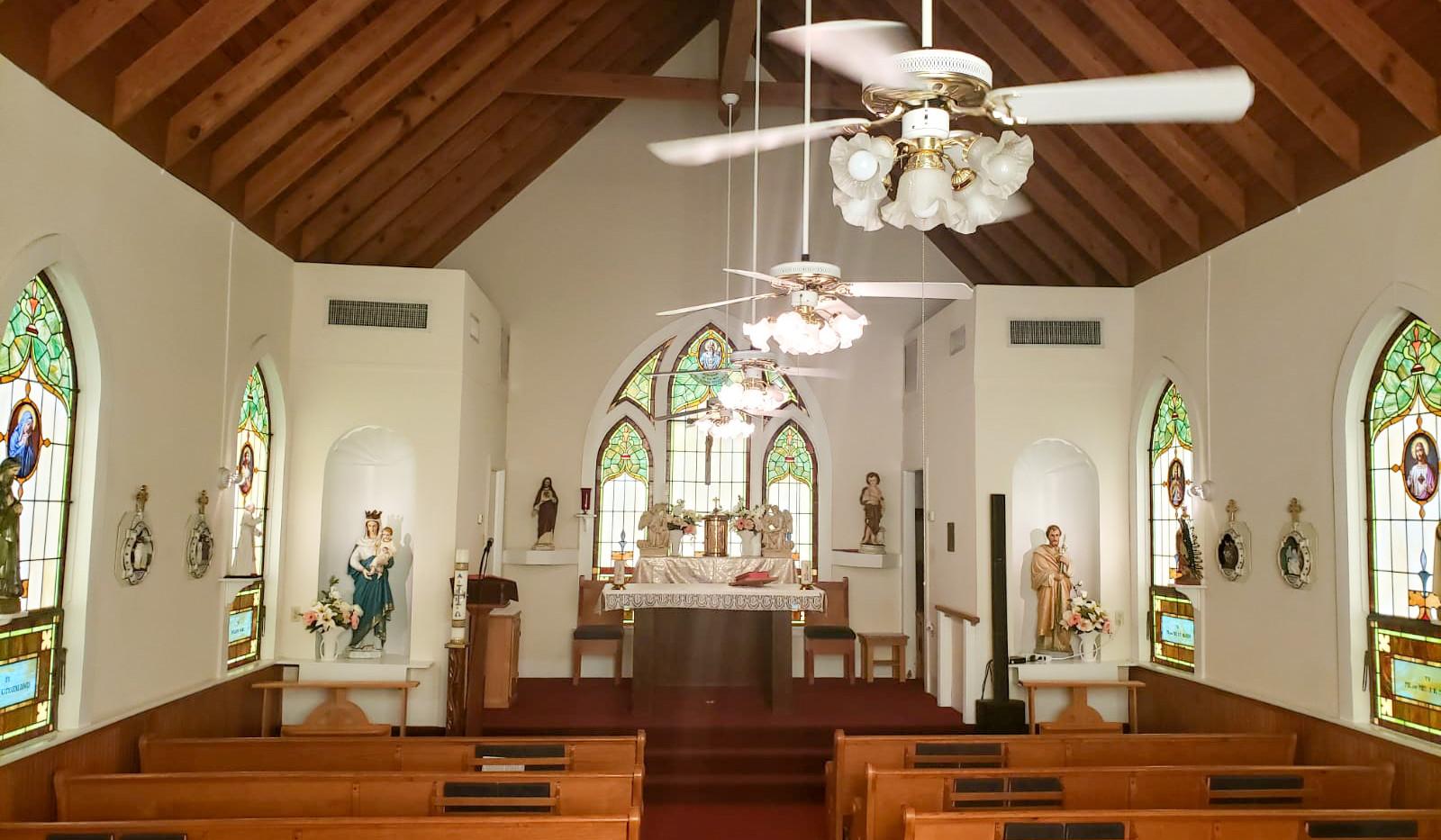 """Inside """"The Chapel"""""""