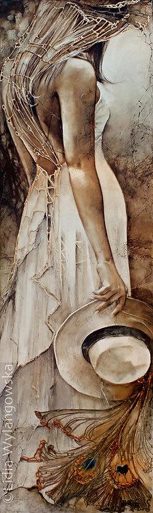 "#160 ""Conquest for Paradise"" giclée print on canvas"
