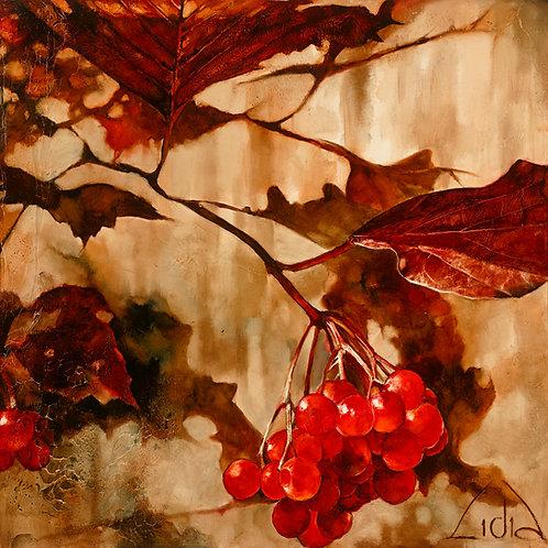 """#047 """"Gravity"""" giclée print on canvas"""