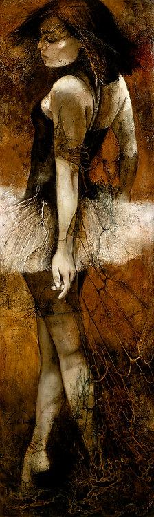"#211 ""Andante"" giclée print on canvas"