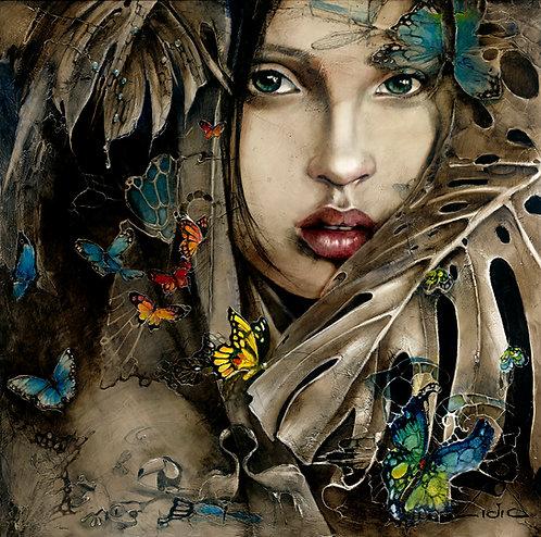 """#271 """"Edge of Rainforest"""" giclée print on canvas"""