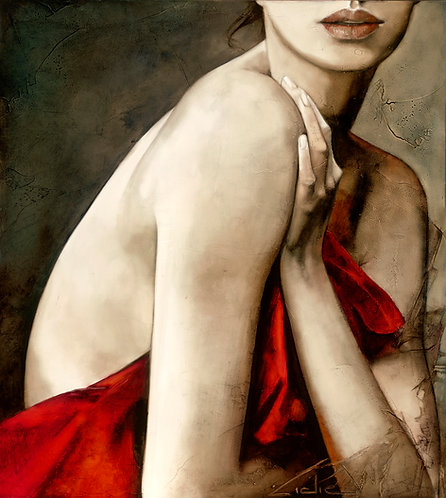 """#235 """"At First Sight""""   giclée print on canvas"""