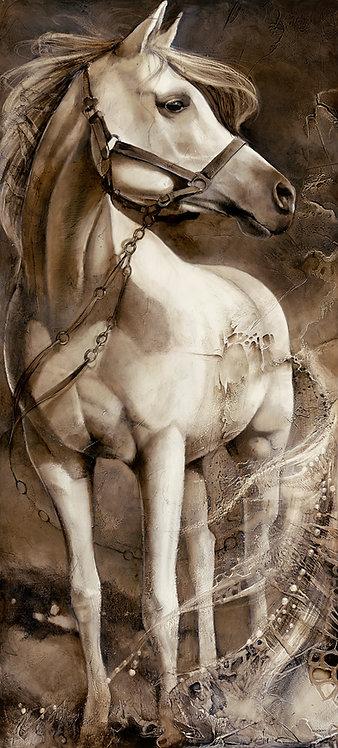 """#226-1 """"Exodus"""" giclée print on canvas"""