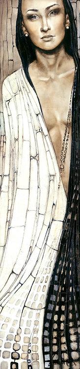 """#021 """"Koyaanisqatsi"""" giclée print on canvas"""
