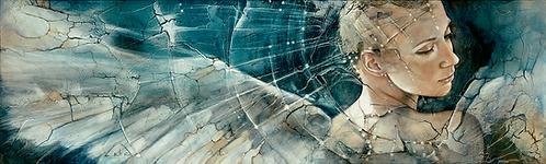 "#220 ""Awakening""giclée print on canvas"