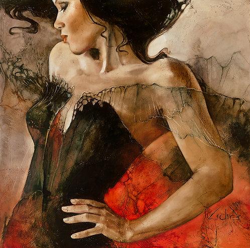 """#145 """"Carmen""""  giclée print on canvas"""