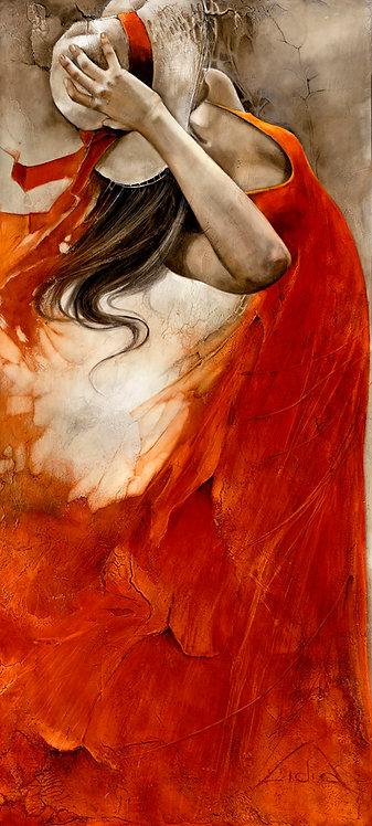"#210 ""Unbearable Lightness of Being"" giclée print on canvas"