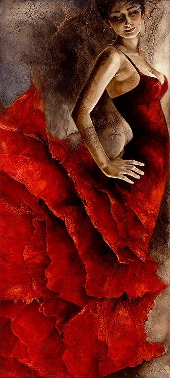 "#218 ""LaVida"" original oil painting"