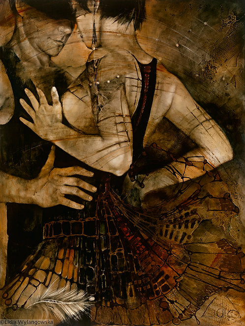 "#85 ""Libertango""  giclée print on canvas"