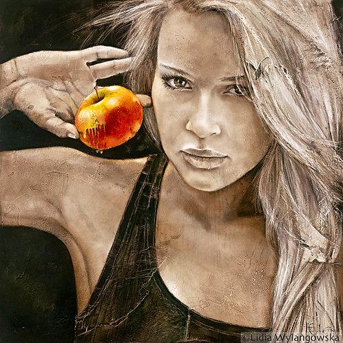 "#089 ""Forbidden Fruit""  giclée print on canvas"