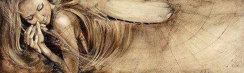 """#112""""Pilgrimage"""" original oil painting"""