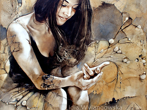 """02 """"Butterfly Effect""""giclee on rolled canvas"""