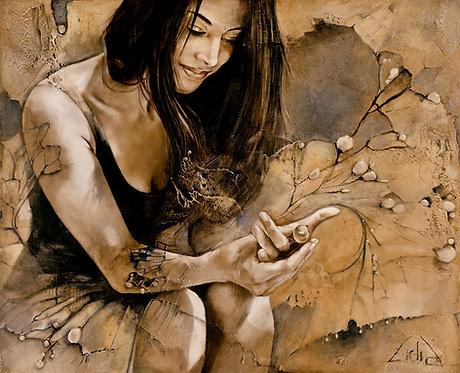 "#002 "" Butterfly Effect"" giclée print on canvas"