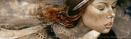 """#270 """"Landscape of Your Soul""""  giclée print on canvas"""