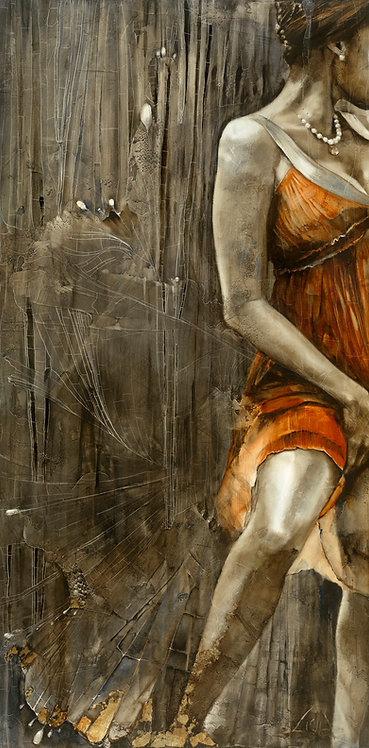 """#023 """" Subtle Seduction""""  giclée print on canvas"""