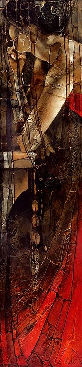 "#090 ""Postscriptum"" giclée print on canvas"