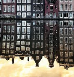 Water Reflection - AMSTERDAM_._._