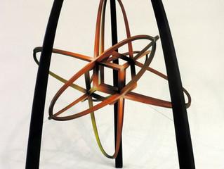 Sculptuur airbrushen voor Eugène Onderwater