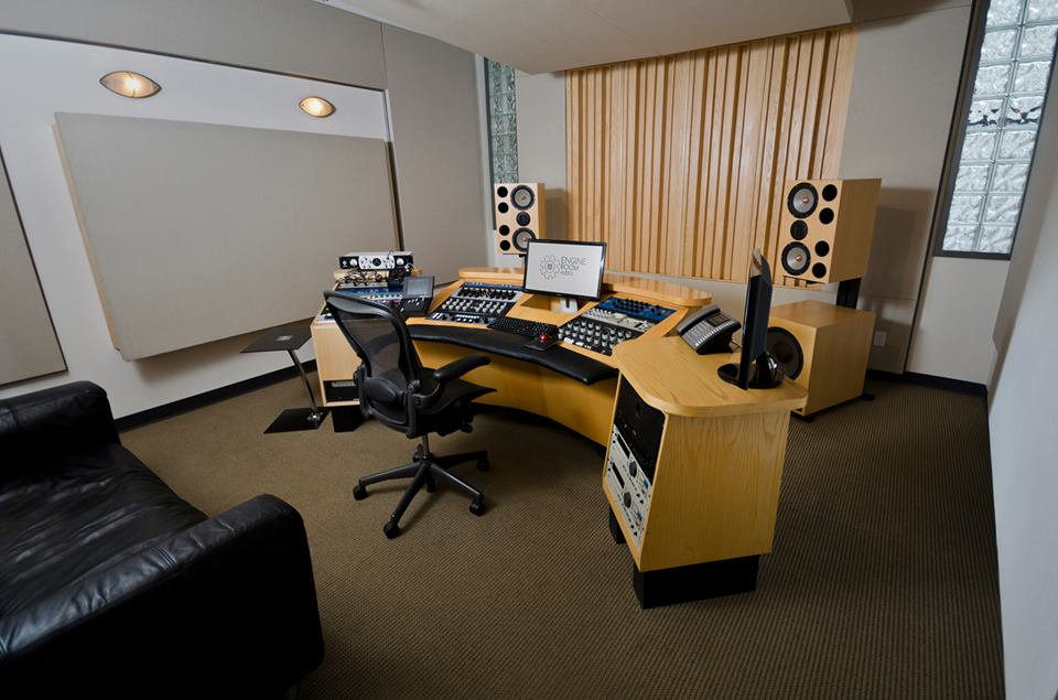 Mastering Room at Engine Room Audio