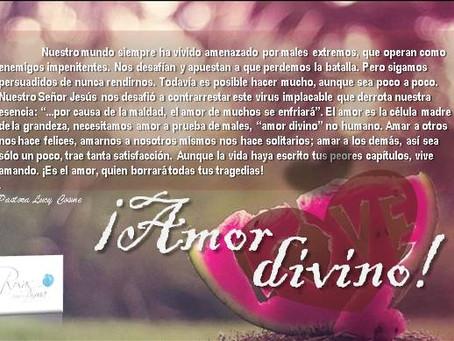 ¡Amor divino!