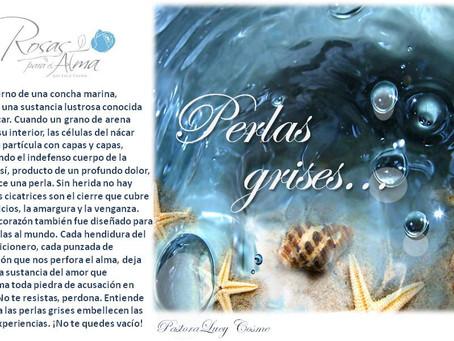 Perlas grises
