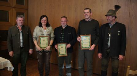 Ehrenabzeichen in silber für besondere Verdienste
