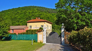 Entrance Gate from the Road