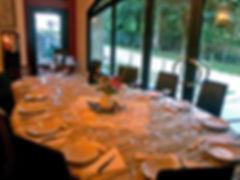 Cena con chef a domicilio