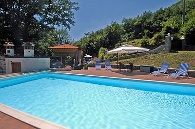 relax in your holiday villa pool