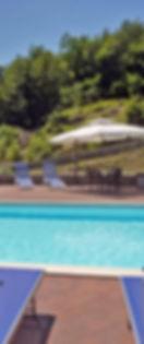 relax swimming poool Villa Morelli Gualtierotti
