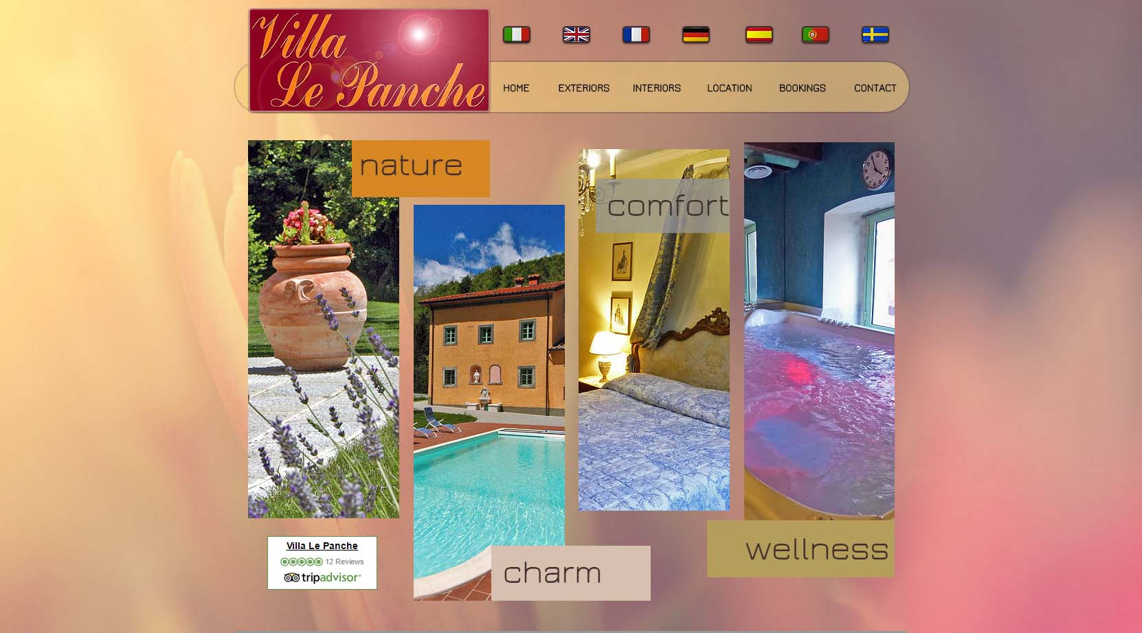 Villa Le Panche Pontepetri.Location Address Villa Le Panche Tuscany