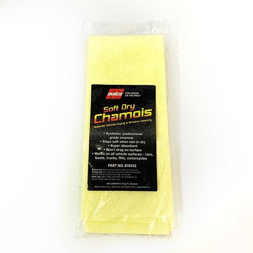 Soft dry chamois