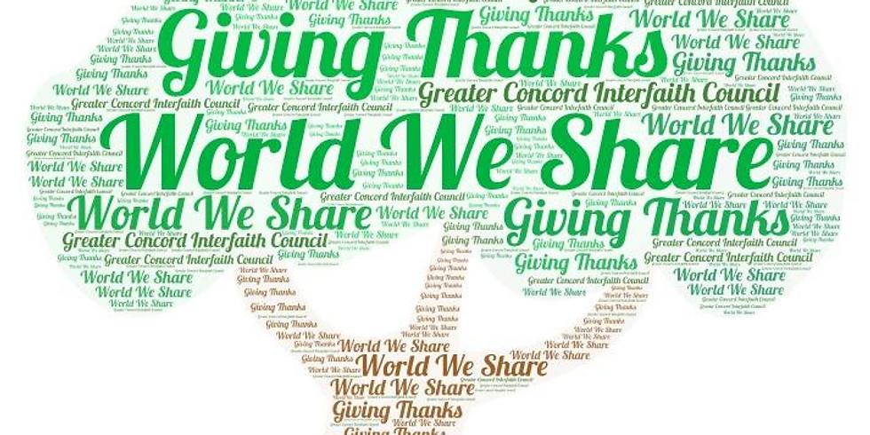 Annual Thanksgiving Program of the Interfaith Council