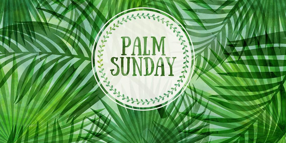 Palm Sunday Online Service