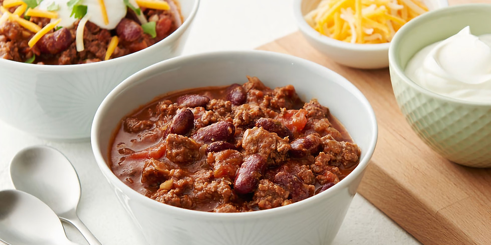 Chili Supper with Pastor Kate