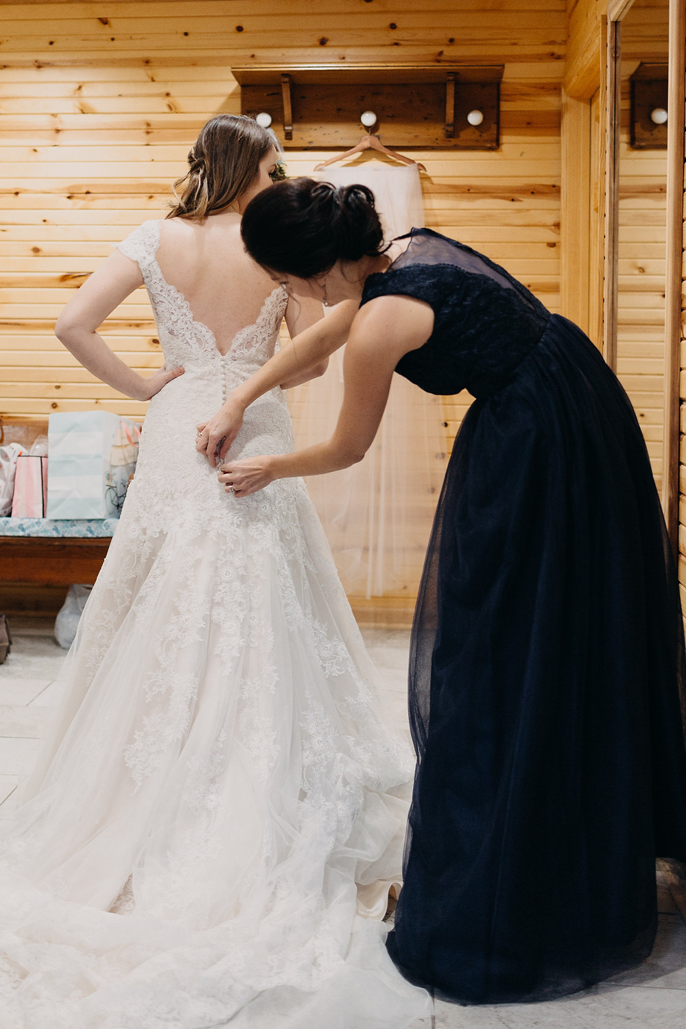 mother-daughter bridal