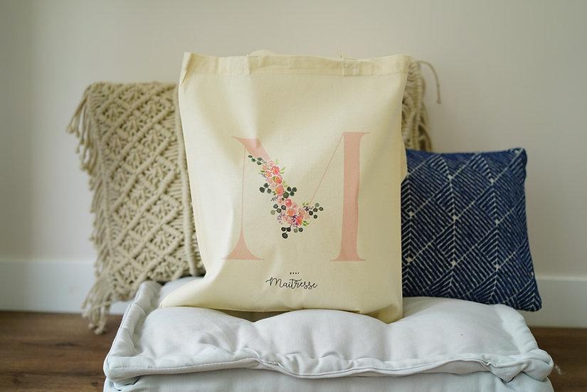 Tote Bag M pour Maîtresse ou pour Merci