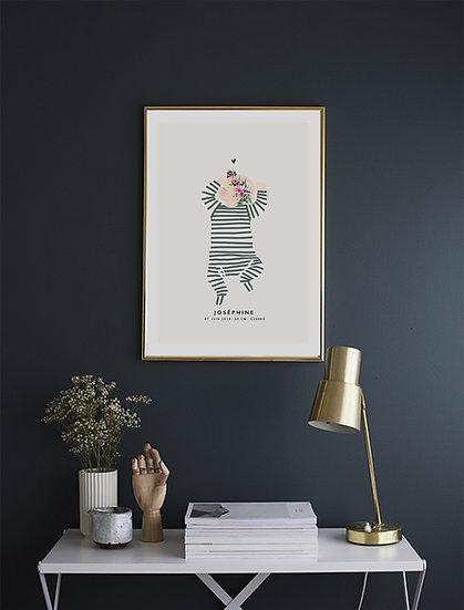 Affiche NEW BORN sans doudou