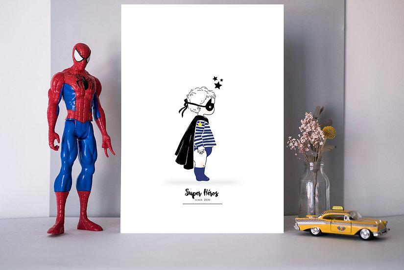 Affiche Profil HEROS (enfant)