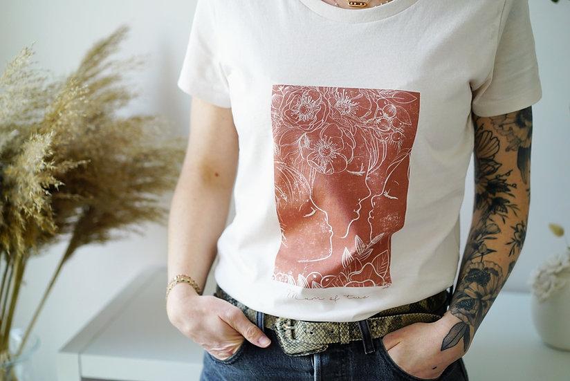 T-shirt  CYANOTYPE Terre cuite