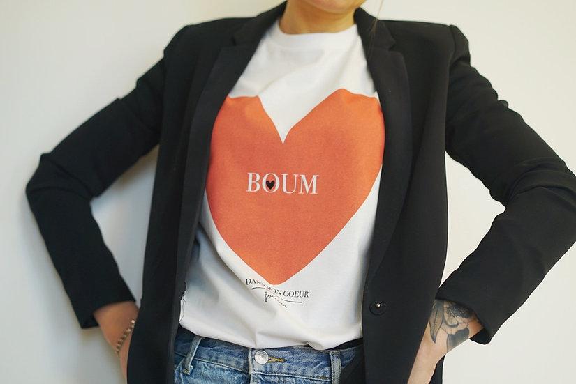 T-shirt adulte DANS MON COEUR