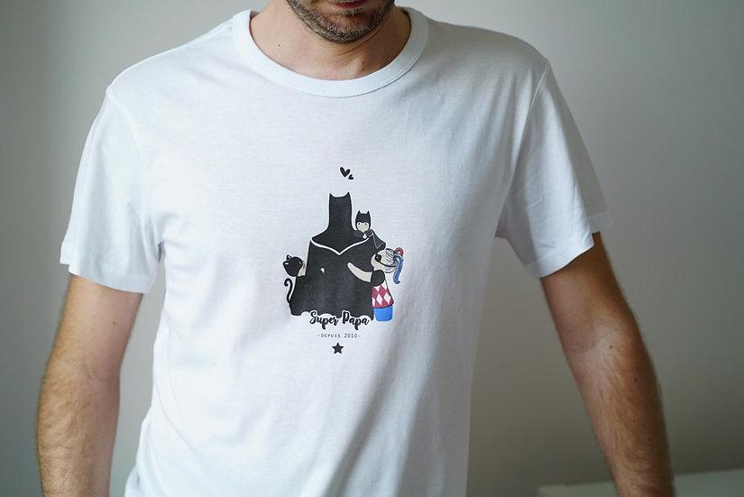 T-shirt homme HEROS blanc