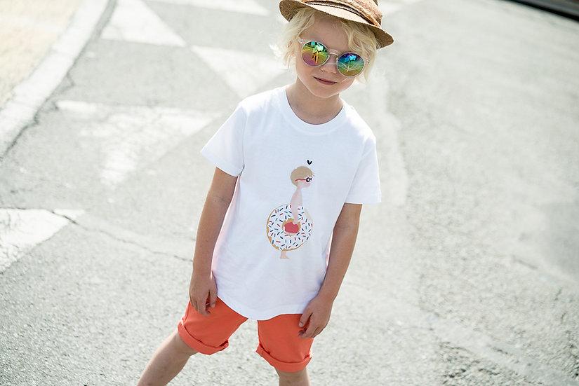 T-shirt SUMMER enfant ou Bébé (1 personnage personnalisable)