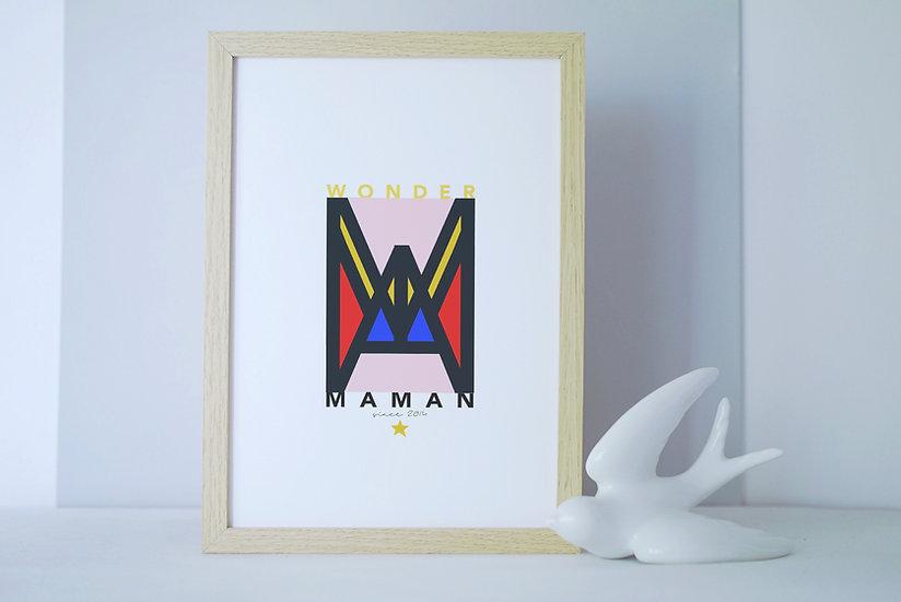 Affiche WONDER MAMAN