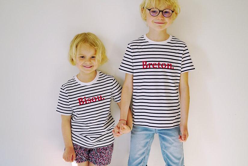 T-shirt enfant MARINIERE