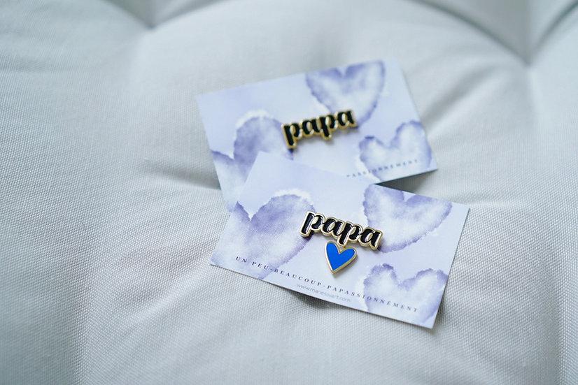 Parure Pin's PAPA