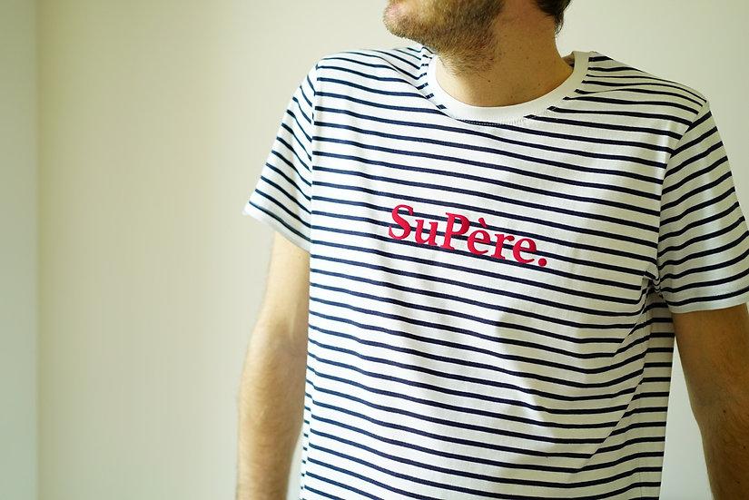 T-shirt Mixte MARINIERE