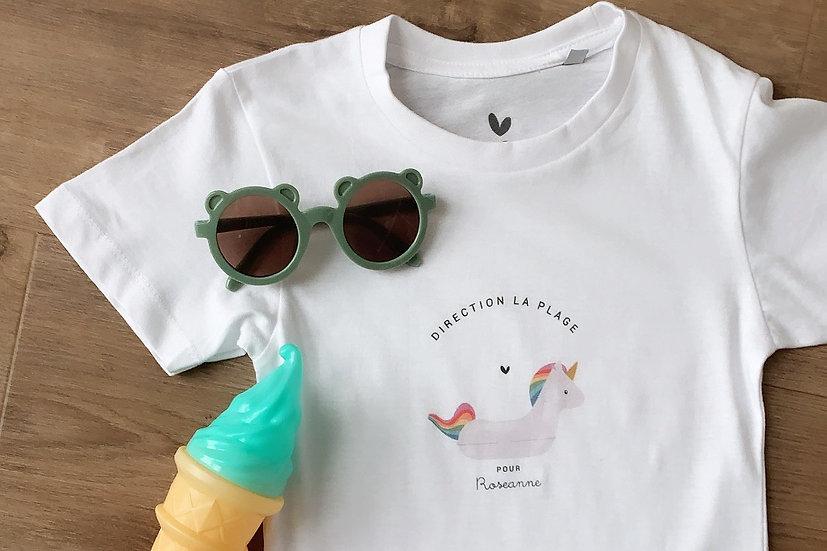 T-shirt enfant VACANCES