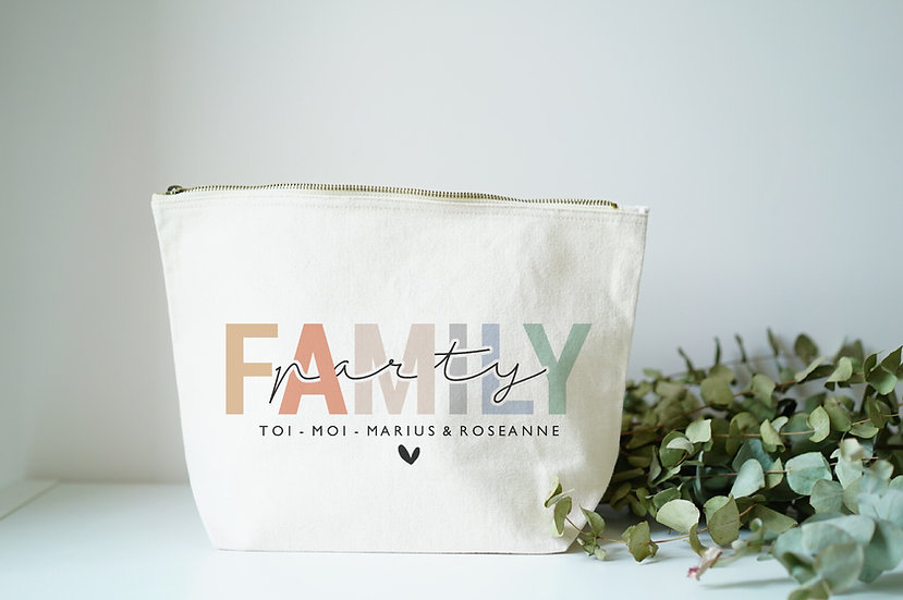 Trousse FAMILY PARTY naturel